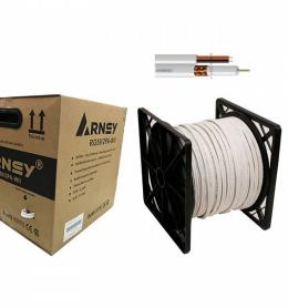 ARNEY RG59 2PA WII 305Mtr, rg6 power, rg6 connector